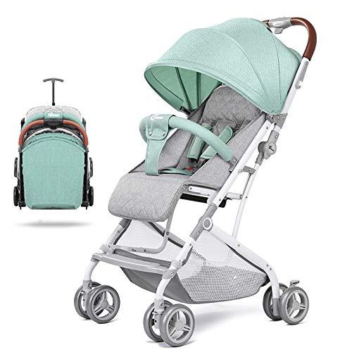 Cochecitos para niños pequeños, con su propio sistema de amortiguación, cochecito de bebé con reposabrazos delantero desmontable, los cochecitos de bebé son adecuados para recién nacidos de 0 a 3 años