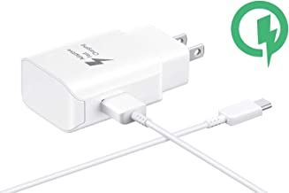 Fast 25W Charging USB-C Wall LG V35+ ThinQ with Detachable Quick Charge 3.0 USB-C/USB Cable. (White)