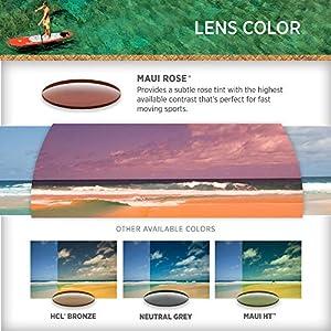 Maui Jim Hikina Rectangular Sunglasses, Tortoise Matte/MAUI Sunrise Polarized, Large
