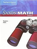 Saxon Math, Course 2, Teacher's Manual, Volume 2, 9781591418382, 1591418380, 2007