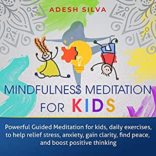 Mindfulness Meditation for Kids audiobook cover art