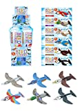 Henbrandt 12x New Animal Birds Aircraft Gliders 16 cm Birthday/ Party Bag - [Toy] Kids Party Bag Fillers, Toy Gliders, Kids Prizes for Party Bags & Party Favours