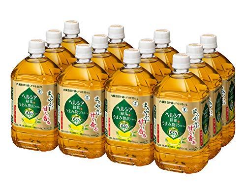 [トクホ] ヘルシア 緑茶 うまみ贅沢仕立て 1L×12本