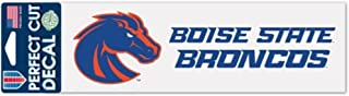 WinCraft NCAA Boise State Broncos 3 x 10 inch Perfect Cut Decal