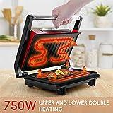 Zoom IMG-1 aigostar warme 30hhh panini maker