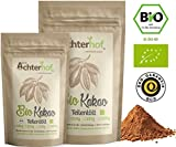 Kakao Pulver Bio Kakaopulver Rohkost stark entölt zuckerfrei