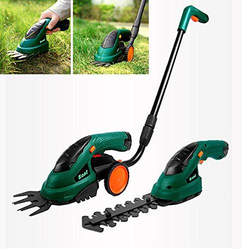 Multifunctionele tuintrimmer Vervangbare snijkop, draagbare elektrische ruis voor huishoudelijk gebruik met weinig ruis