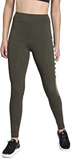 Puma ESS+ Graphic Leggings Leggins, Women, Green, M