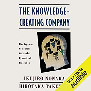 The Knowledge-Creating Company audiobook cover art
