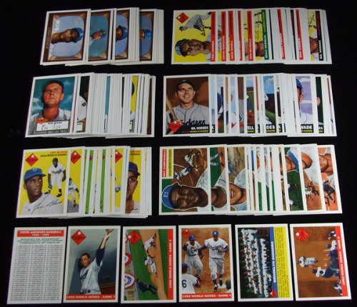 1995 Topps Baseball Brooklyn Dodgers Archives Complete Set 165 Cards