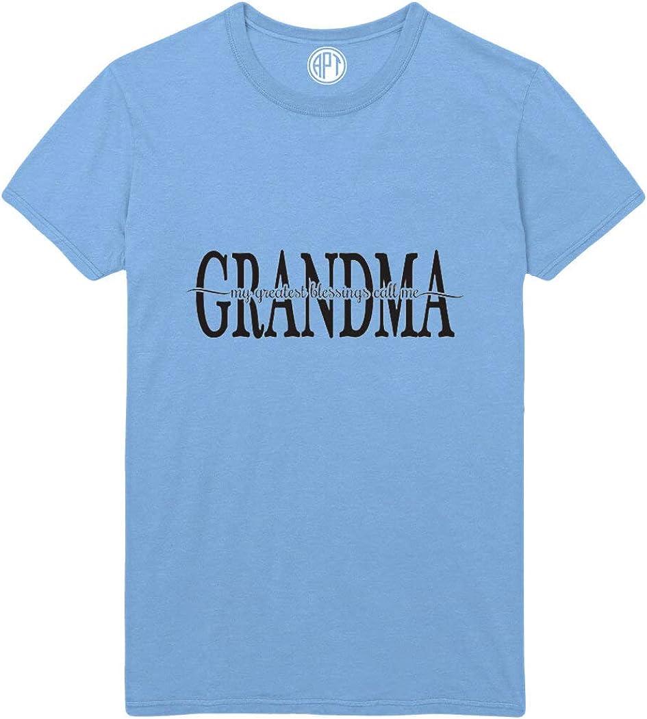 My Greatest Blessings Call Me Grandma Printed T-Shirt