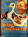 Die Ente klingelt um 1/2 8 - Heinz Rühmann - Filmposter A1