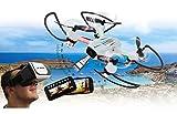 Jamara- Cuadricópter Angle 120 Altitude HD Wi-Fi VR (422029)