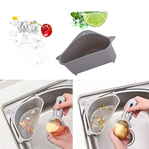 ZYBB Küchen-Mehrzweckkorb Schwammaufbewahrungsbox Spülenablauf Aufbewahrungsbox Mit...