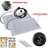 WATERCARBON Premium Heated Seat Kit - Universal, OEM Equipment - Dual Settings, Five Year Warranty