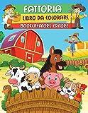 Fattoria - Libro da Colorare: Pagine Divertenti da Colorare con Bellissimi Animali della F...