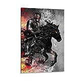 haocaitou Schwarzes Knighte Dark Horse Passenger Poster