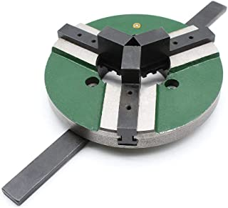 3 Jaw WP200 Self Centering Welding Positioner Turnable Table Chuck Chucks 8 Inch 200mm Reversible US
