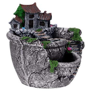 OUNONA Plant Pot, Mini Garden Pot Container Fairy Garden Pot with...