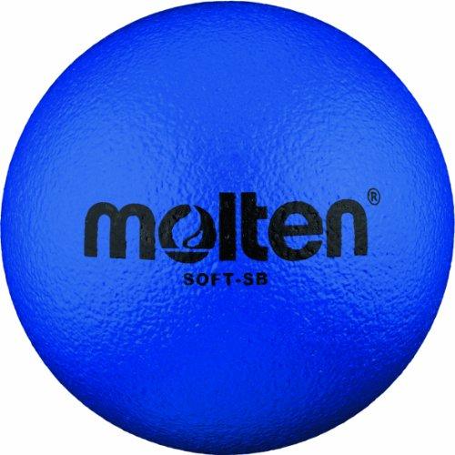 Molten - Soft-SB, Pallone morbido da calcio, Ø 180 mm, colore: Blu