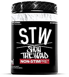 Run Everything Labs | STW | Show The World | Non-STIM PRE Workout (UNFLAVORED)