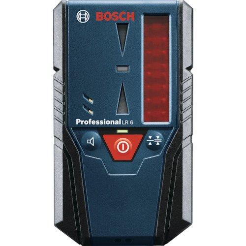 Bosch Professional Laser-Empfänger LR 6 (2 x 1,5 V Batterien (AAA), Reichweite: 5 - 50 m, Messgenauigkeit (fein/grob): ± 1 mm/± 3 mm)