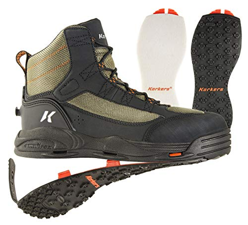 Korkers Unisex's Wading Boots ASIN: B0154PJBFK View on Amazon, Dried...