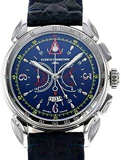 クエルボ・イ・ソブリノス CUERVO Y SOBRINOS ヒストリアドール ヴェロ 3201-1B 中古 腕時計 メンズ (W173792)