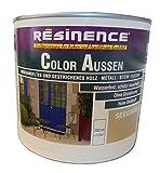 Resinence 250ml, Color Aussen Seegrau Seidenmatt, Aussenbereich