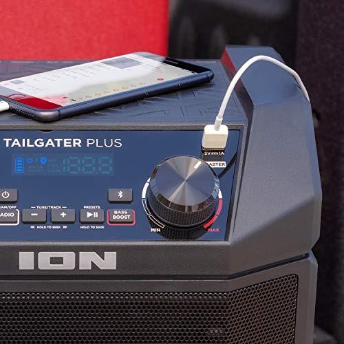 ION Audio Tailgater Negro portón trasero