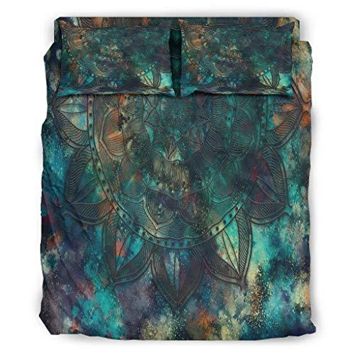 Butterfly Goods Bettdecke Magisches Leichte - 4-teiliges Bettbezug-Set Bettdecke für die ganze Saison White 175x218cm