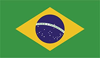 JB Print Magnet Brazil Flag Vinyl Decal Sticker Car Waterproof Car Decal Magnetic Bumper Sticker 5