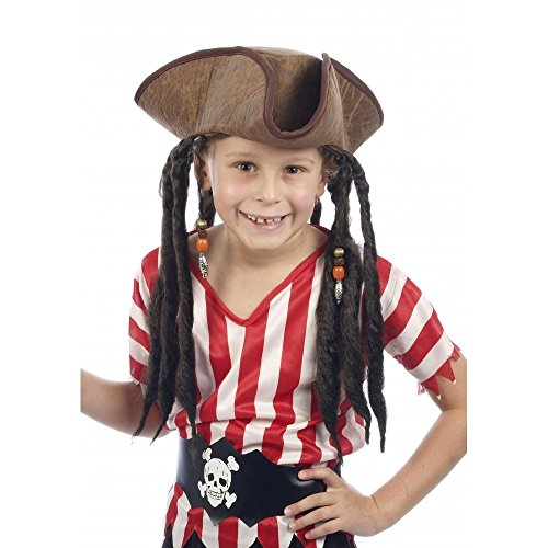 Deluxe Child Pirate Hat With Att...