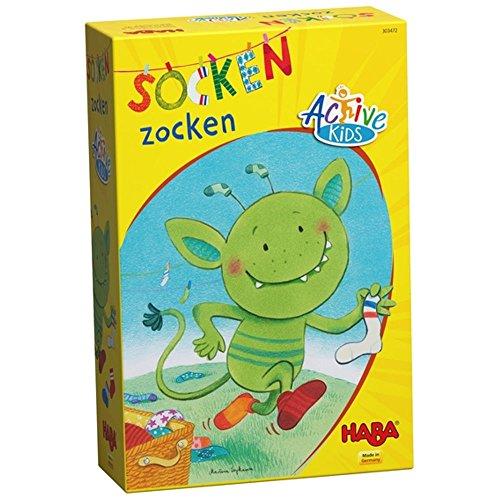 Haba 303472 - Socken zocken, Active Kids Lernspiel