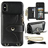 LAMEEKU Wallet Case Compatible with iPhone Xs Max, iPhone Xs Max...