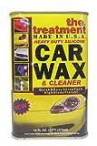 The Treatment 26016 Heavy Duty Silicone Car Wax, 16 oz, 1 Pack