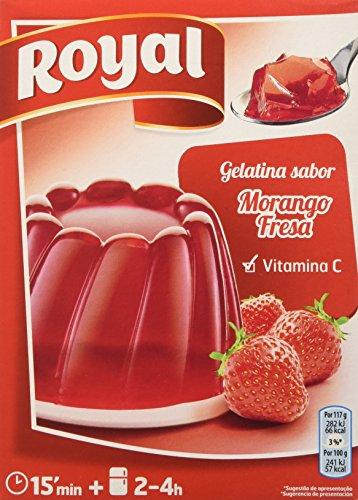Royal Gelatina Gusto Fragola - 170 gr