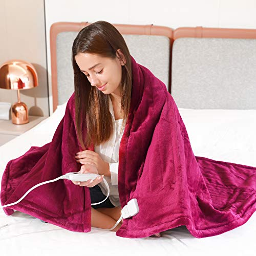 Toyuugo Electric Blanket Heated Throws,Full Body Fast...