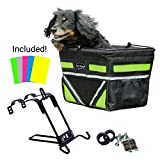 Pet-Pilot Original Dog Bike Basket Carrier | 10 color options for your bicycle -(5-Color)