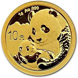 Chinese Panda Gold - 1 Gram.999 Purity