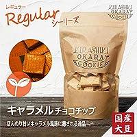 キャラメルチョコチップ 1袋(160g) 倉敷おからクッキー たんぱく質・食物繊維たっぷりの国産大豆生おから