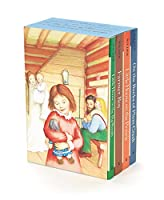 Little House 4-Book Box Set: Little House in the Big Woods, Farmer Boy, Little House on the Prairie, On the Banks of Plum Creek