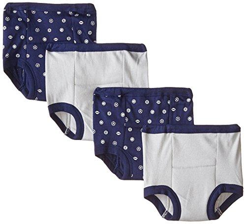 Gerber Toddler Boys' 4 Pack Training Pants, Sports, 2T