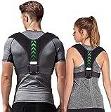 K-ESSENTIA Corrector Postura Espalda y Hombros, enderezador Ajustable, corrección Espalda, Postura Cuello, para Hombre y Mujer