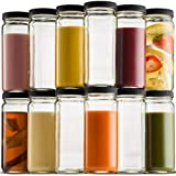 Best Fruit Infuser Water Bottle 32 Ozs - Travel Glass Drinking Bottle Mason Jar 16 Ounce Review