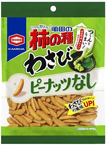 亀田の柿の種 わさび100% 12袋