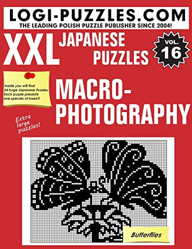 XXL Japanese Puzzles: Macrophotography