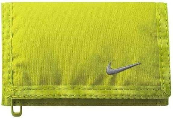 Nike Basic Wallet (Volt/Wolf Grey)