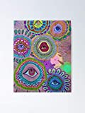 AZSTEEL Indie Eye Collage Poster Poster 11.7 * 16.5