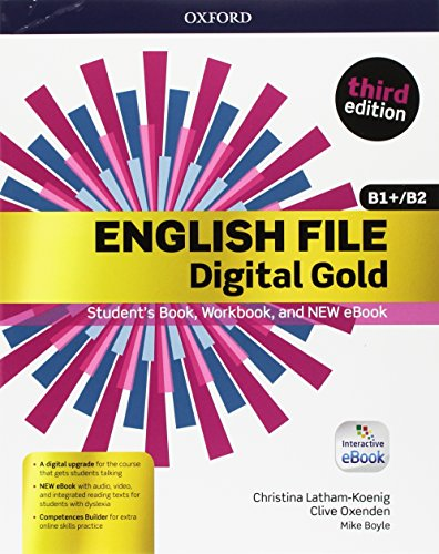 English file gold.B1/B2.Premium.Student's Book wb with ebk with oosp [Lingua inglese]